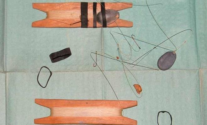 Закидушки и деревянные мотовило