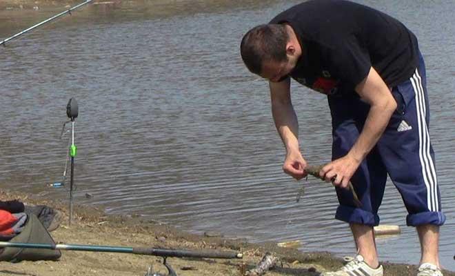 Рыбалка на пружину
